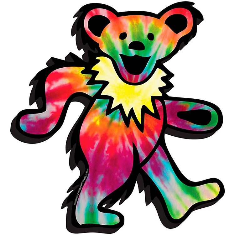 Hal LeonardGrateful Dead (Bear Logo) - Chunky Magnet