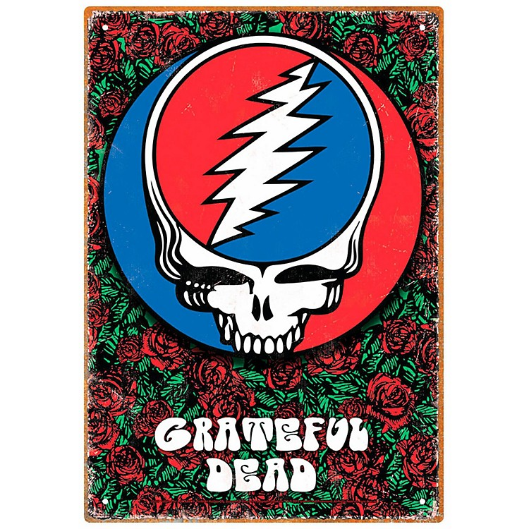 Hal LeonardGrateful Dead Roses Tin Sign