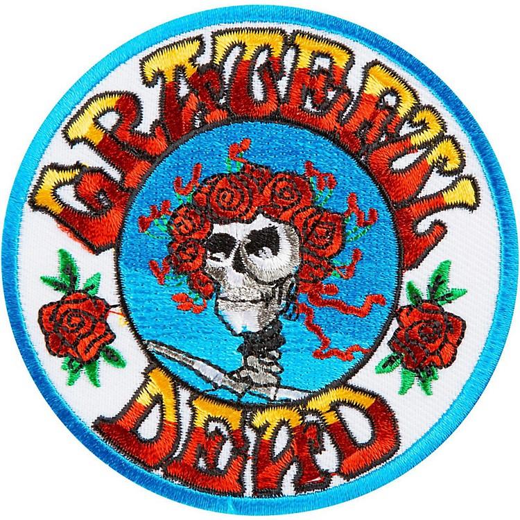 C&D VisionaryGrateful Dead Skull & Roses Patch