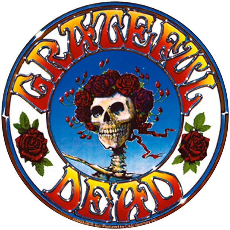 C&D VisionaryGrateful Dead Skull & Roses Sticker