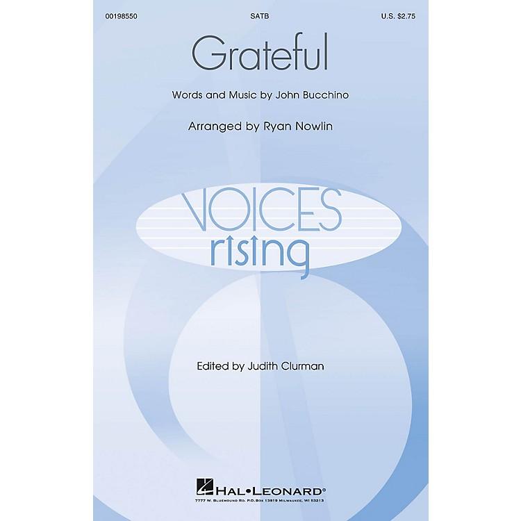 Hal LeonardGrateful SATB composed by John Bucchino