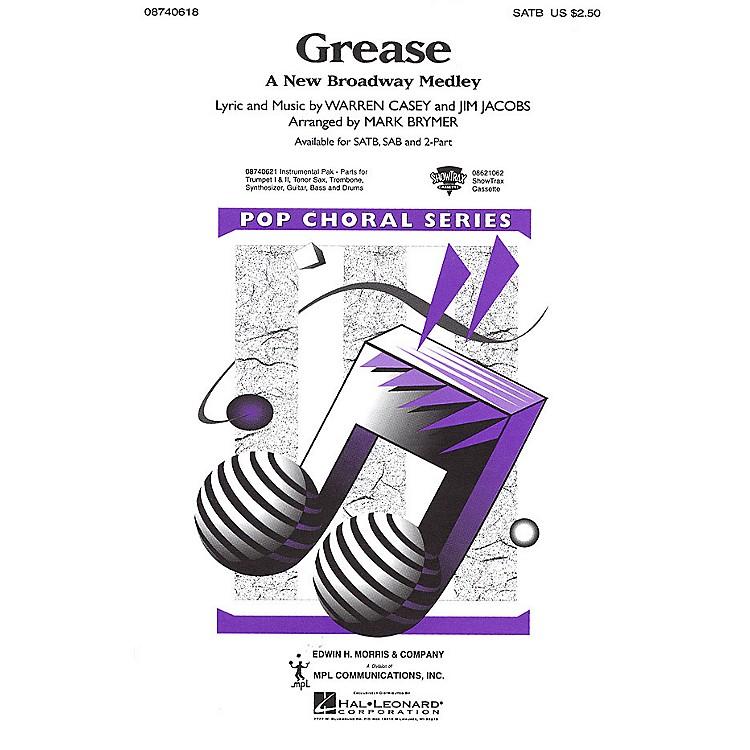 Hal LeonardGrease (A New Broadway Medley) SAB Arranged by Mark Brymer