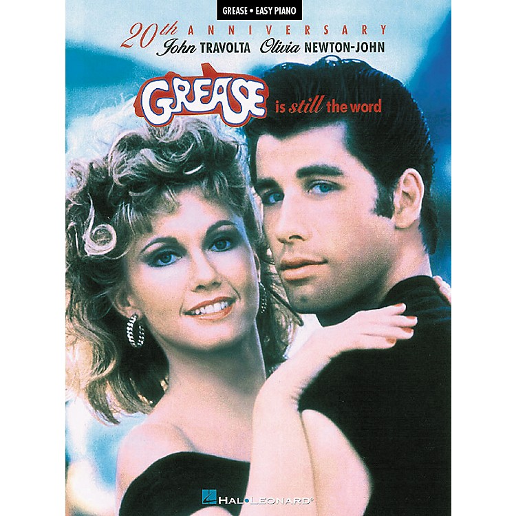 Hal LeonardGrease Is Still The Word - 20Th Anniversary For Easy Piano