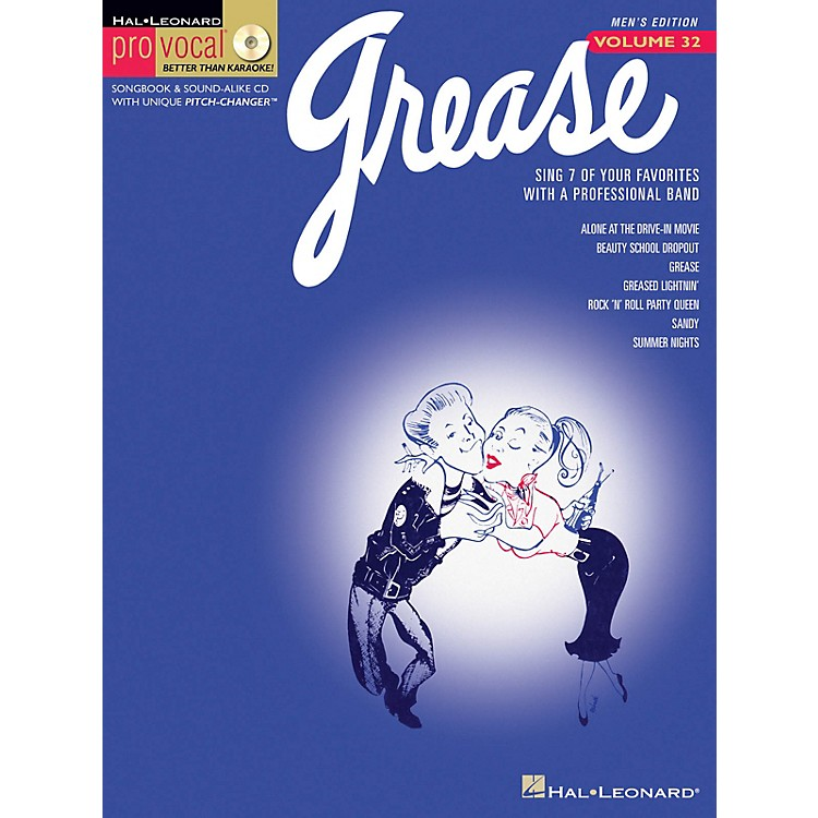 Hal LeonardGrease (Pro Vocal Men's Edition Volume 32) Pro Vocal Series Softcover with CD Composed by Various