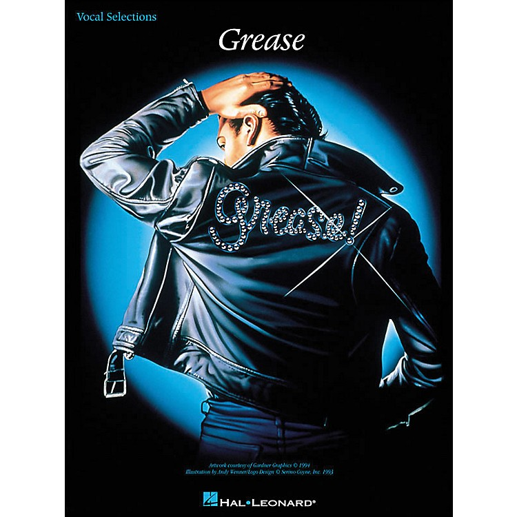 Hal LeonardGrease arranged for piano, vocal, and guitar (P/V/G)