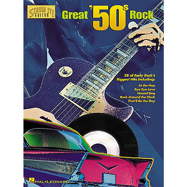 Hal Leonard Great '50s Rock Strum It Guitar Tab Songbook