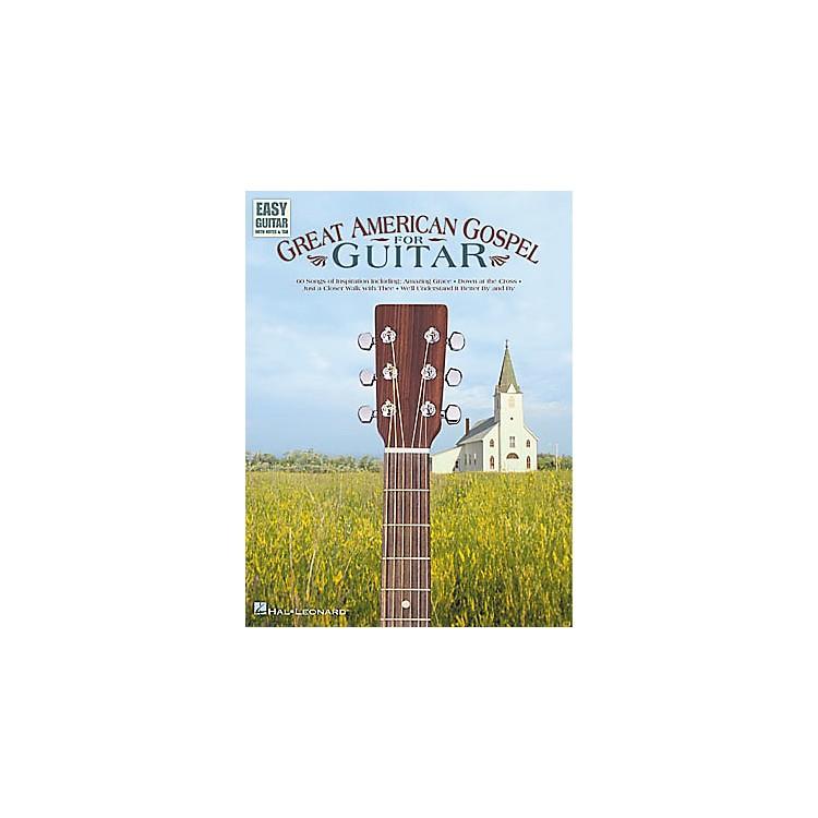 Hal LeonardGreat American Gospel for Easy Guitar Book