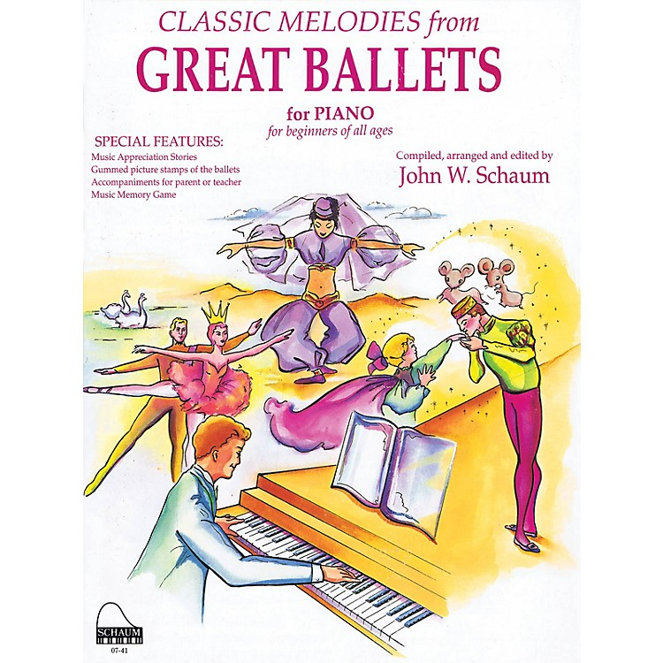 SCHAUMGreat Ballets Educational Piano Series Softcover
