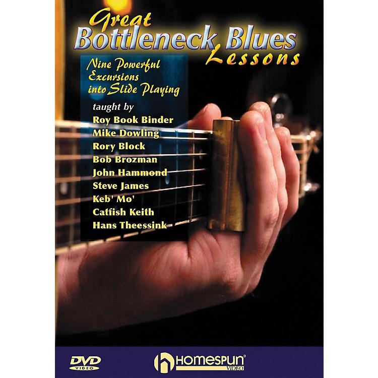 HomespunGreat Bottleneck Blues Guitar Lessons (DVD)