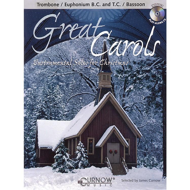 Curnow MusicGreat Carols (Trombone/Euphonium (BC or TC)/Bassoon - Grade 3-4) Concert Band Level 3-4