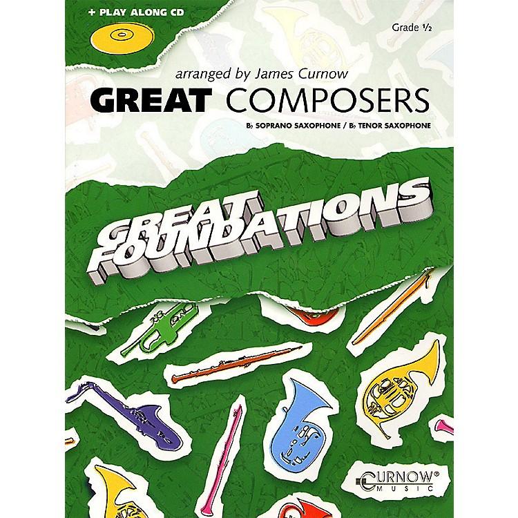 Curnow MusicGreat Composers (Bb Soprano Sax/Bb Tenor Sax - Grade 0.5) Concert Band Level 1/2