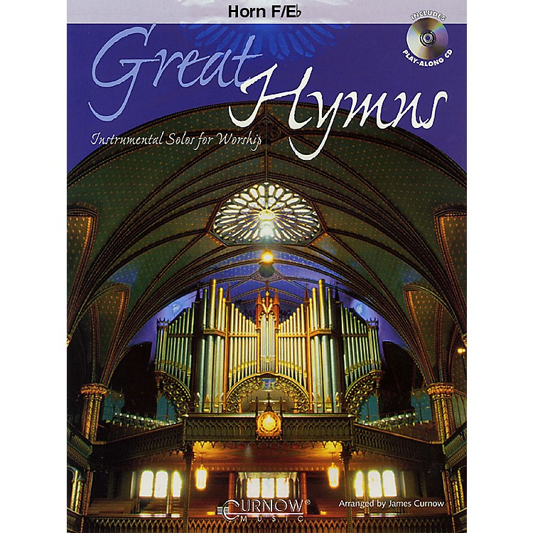 Curnow MusicGreat Hymns (F Horn/Eb Horn - Grade 3-4) Concert Band Level 3-4