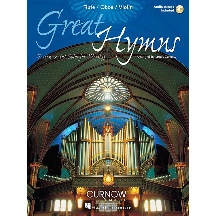 Curnow MusicGreat Hymns (Flute/Oboe/Violin - Grade 3-4) Concert Band Level 3-4