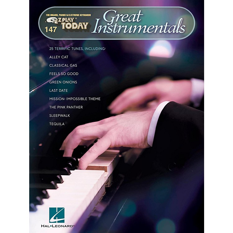 Hal Leonard Great Instrumentals E-Z Play Today Volume 147