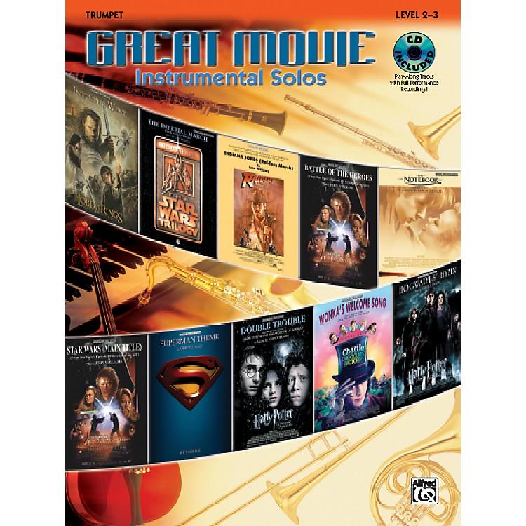 AlfredGreat Movie Instrumental Solos Trumpet Book & CD