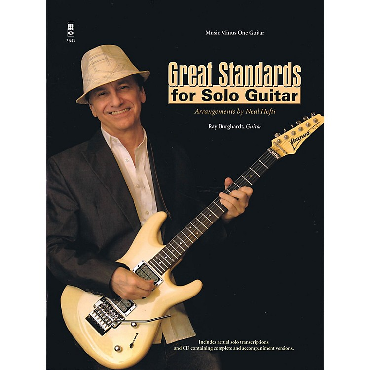 Music Minus OneGreat Standards for Solo Guitar Music Minus One Series Softcover with CD