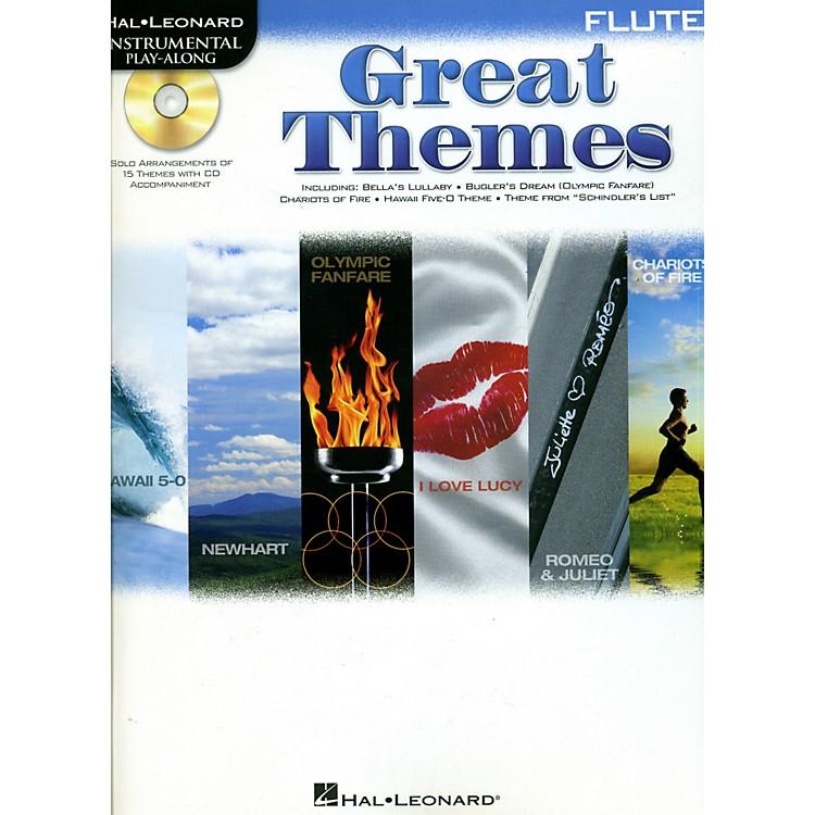 Hal LeonardGreat Themes - Instrumental Play-Along Book/CDFlute