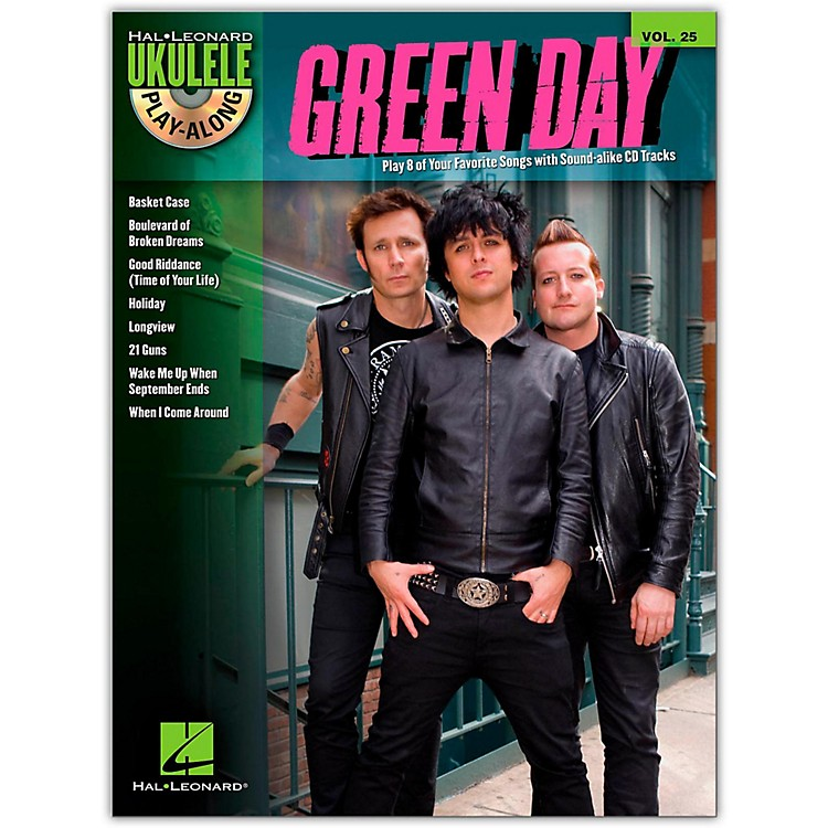 Hal Leonard Green Day - Ukulele Play-Along Vol. 25 Book/CD