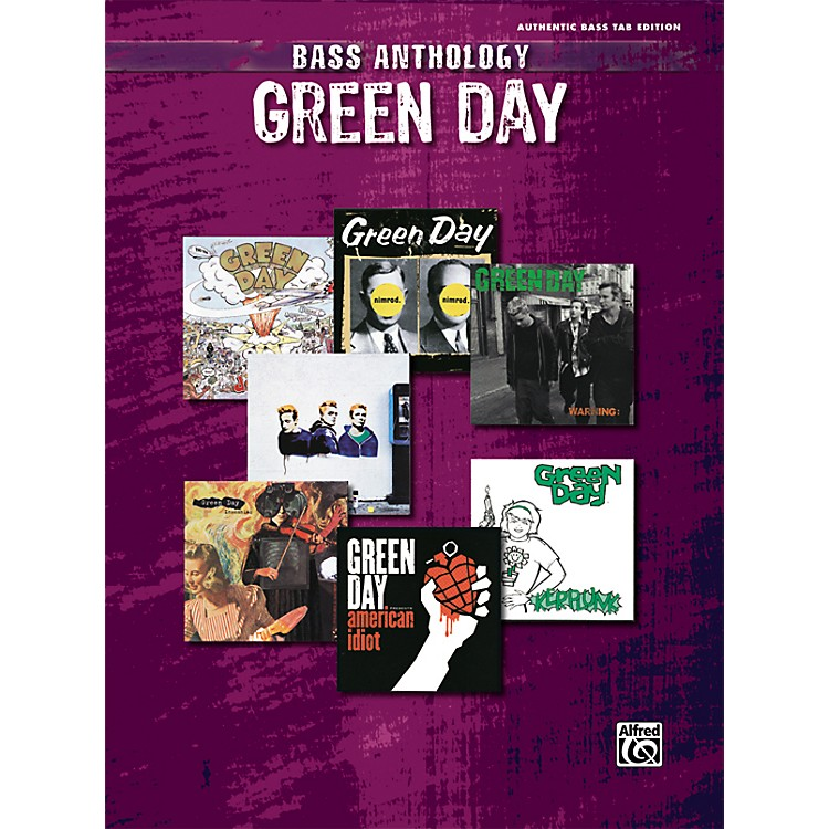 AlfredGreen Day Anthology Bass Guitar Tab Songbook