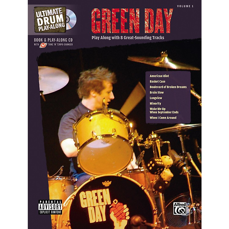 Alfred Green Day Ultimate Drum Book and Play-Along CD