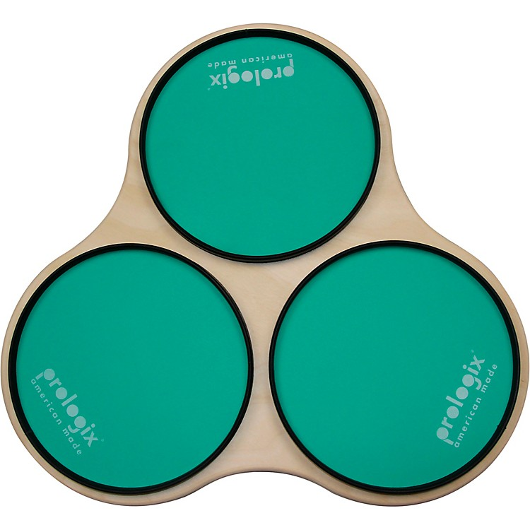 ProLogix PercussionGreen Logix Sectional Practice Pad with Rims