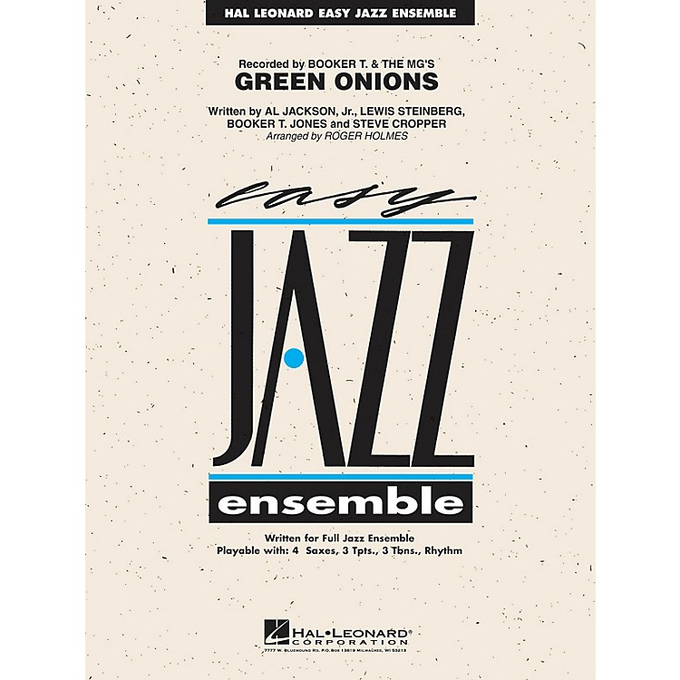 Hal Leonard Green Onions Jazz Band Level 2 Arranged by Roger Holmes