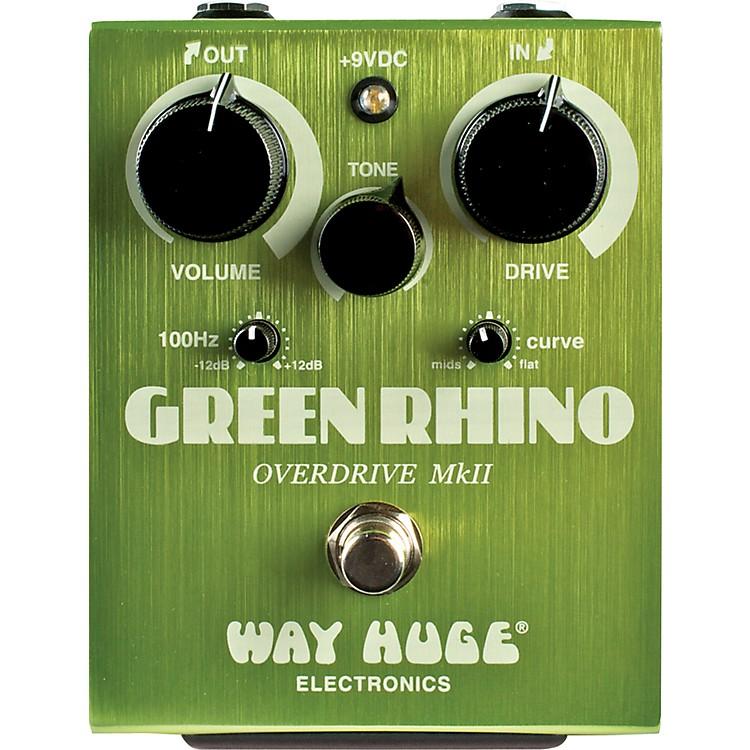 Way Huge ElectronicsGreen Rhino MkII Overdrive Guitar Effects Pedal