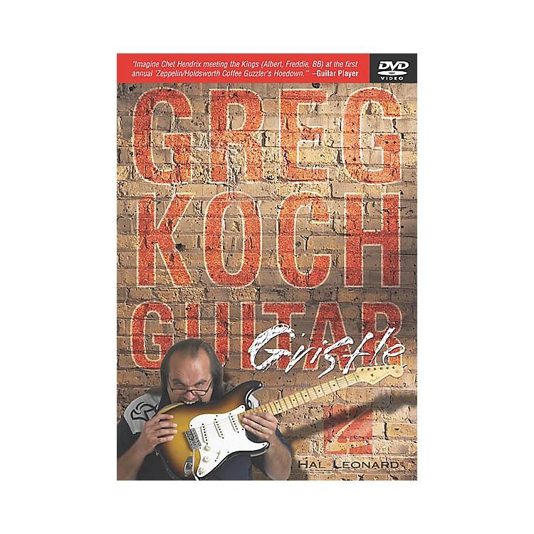 Hal LeonardGreg Koch - Guitar Gristle (DVD)