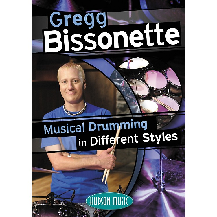 Hudson MusicGregg Bissonette Musical Drumming in Different Styles (DVD)