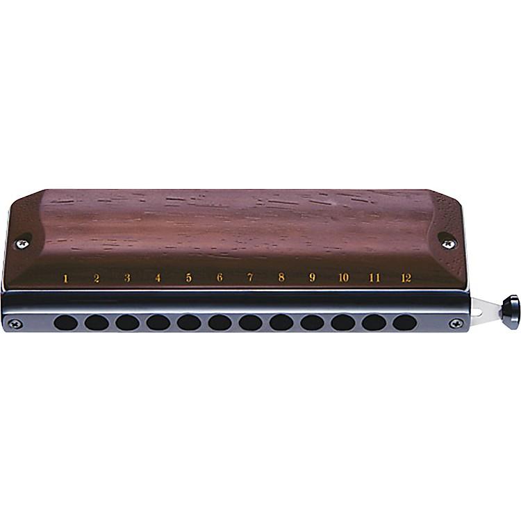 SuzukiGregoire Maret Signature Chromatic Harmonica - Rosewood Covers
