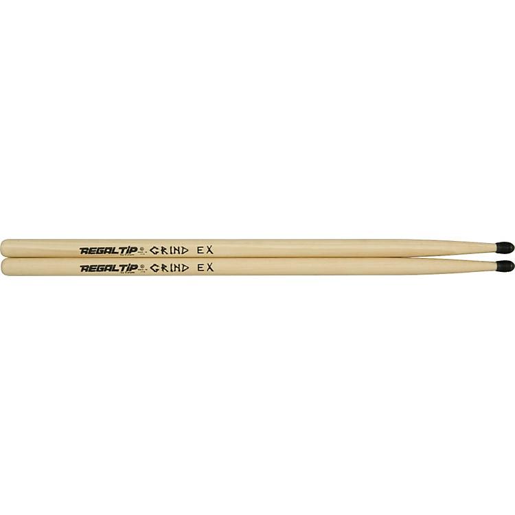Regal TipGrind EX X-Series Drumsticks With E-Tip