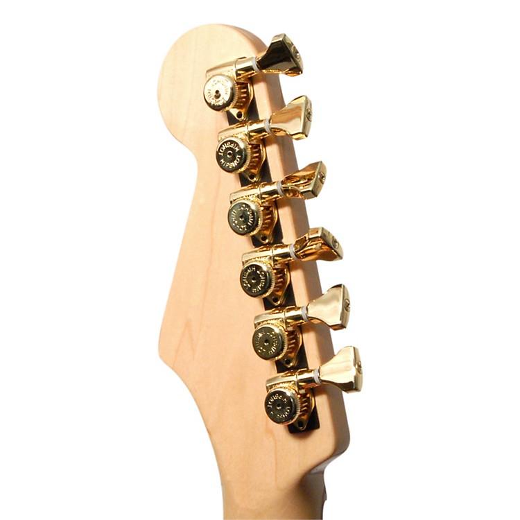 HipshotGrip Lock Locking Guitar Tuning Machine SetGoldStaggered 18mm, 19mm, 20mm