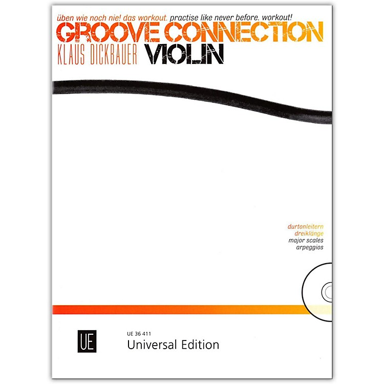 Carl Fischer Groove Connection Score and CD - Violin