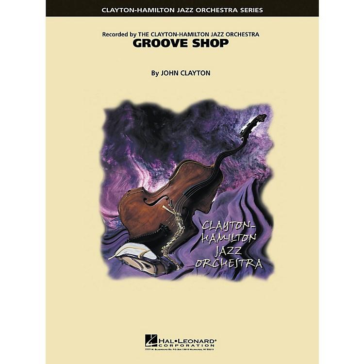 Hal LeonardGroove Shop Jazz Band Level 5 Composed by John Clayton