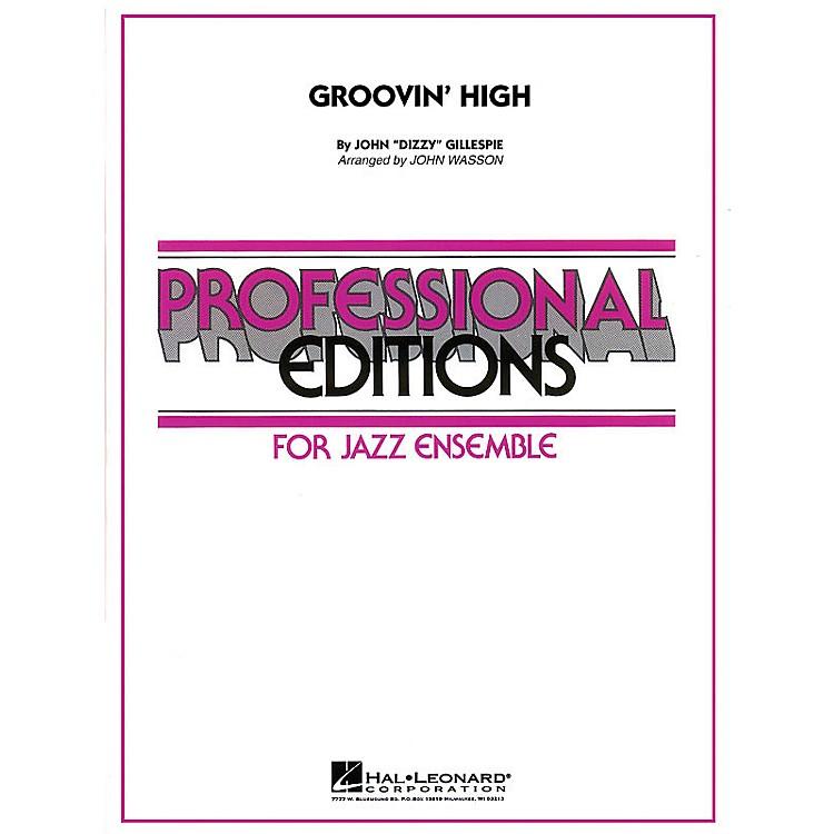 Hal LeonardGroovin' High Jazz Band Level 5 Arranged by John Wasson