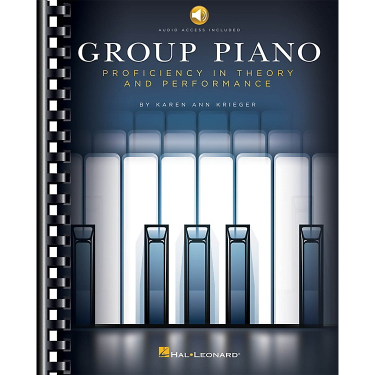 Hal LeonardGroup Piano - Proficiency In Theory And Performace Book/Audio Online