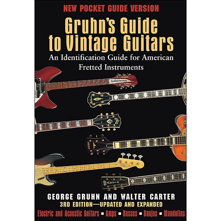 Backbeat BooksGruhn's Guide To Vintage Guitars - Pocket Edition