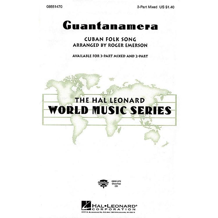 Hal LeonardGuantanamera 2-Part Arranged by Roger Emerson