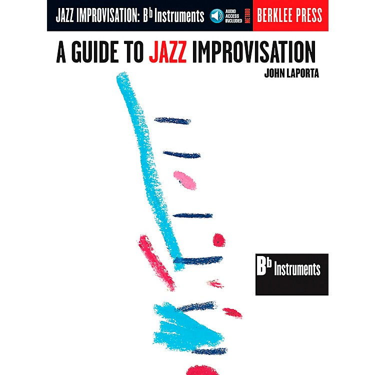 Berklee PressGuide To Jazz Improvisation B Flat Edition Book/CD