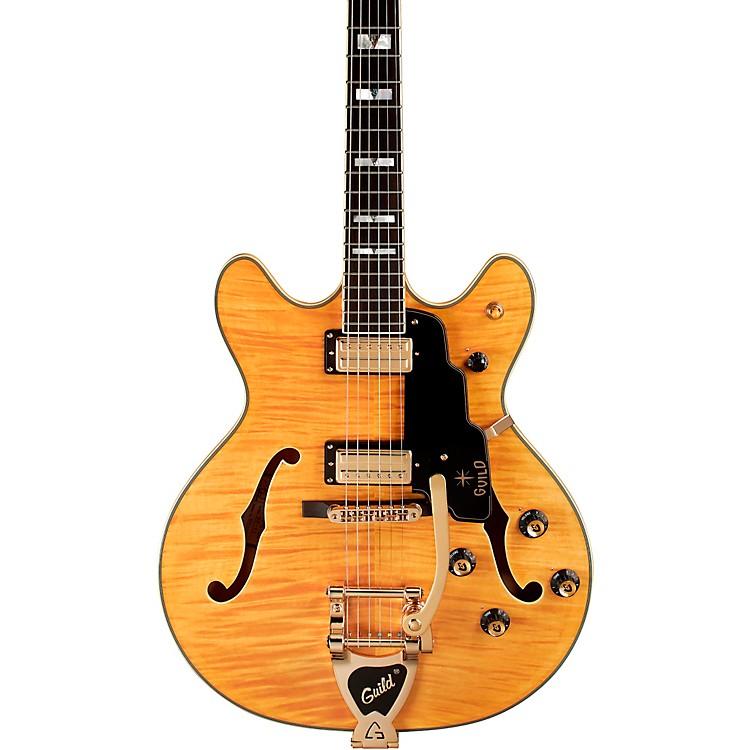 GuildGuild Starfire VI Semi-Hollowbody Electric GuitarBlonde
