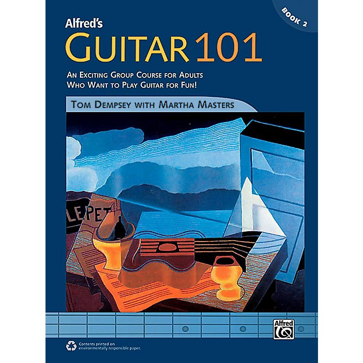 AlfredGuitar 101, Book 2 - Comb Bound Book