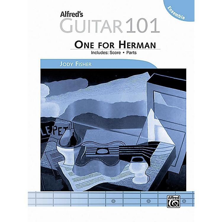 AlfredGuitar 101, Ensemble: One for Herman - Score & Parts