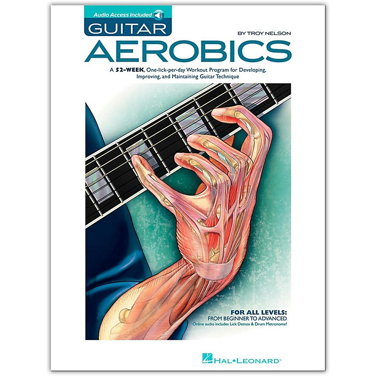 Hal LeonardGuitar Aerobics - Book/Online Audio Pack