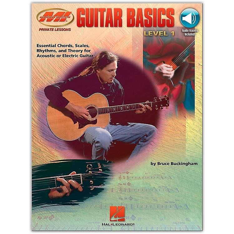 Hal LeonardGuitar Basics (Book/Online Audio)