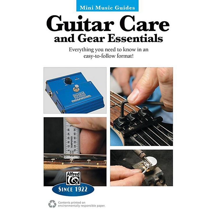 AlfredGuitar Care and Gear Essentials Mini Music Guides Book