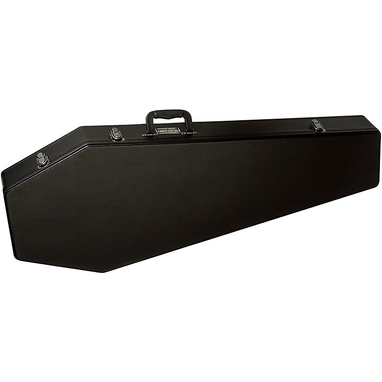 Coffin Case Guitar Case Black Red