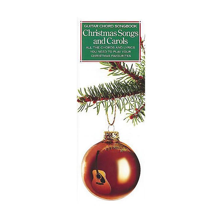 Music SalesGuitar Chord Songbook - Christmas Songs and Carols Music Sales America Series