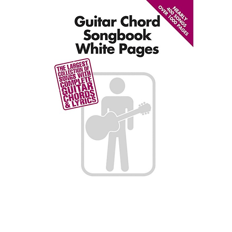 Hal LeonardGuitar Chord Songbook White Pages