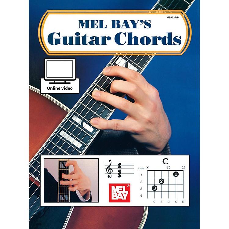 Mel BayGuitar Chords Book & Online Audio
