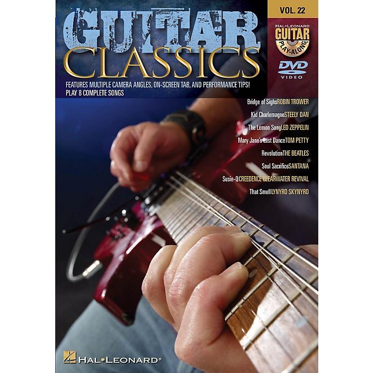Hal LeonardGuitar Classics (Guitar Play-Along DVD Volume 22) Guitar Play-Along DVD Series DVD Performed by Various